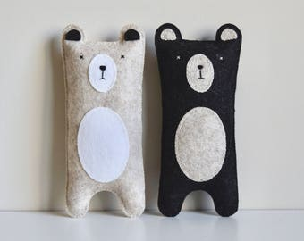 Bear Softies | Wool Felt Toy