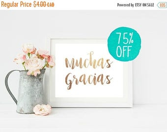 Muchas Gracias Sign, Muchas Gracias, Muchas Gracias Card, Fiesta Sign, Wedding Sign, Wedding Signs, Thank You Card, Thank You Sign, Spanish