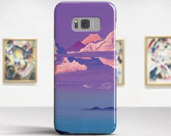 "Nicholas Roerich, ""Himalayas"". Samsung S8 Case, Samsung S7 Case, Samsung S6 Case, Huawei, LG, Google Pixel Cases. Art phone cases."