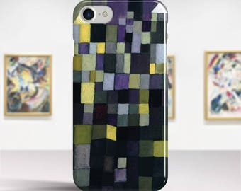 "Paul Klee, ""Architecture"". iPhone 7 Case Art iPhone 6 Case iPhone 8 Plus Case and more. iPhone 7 TOUGH cases. Art iphone cases."