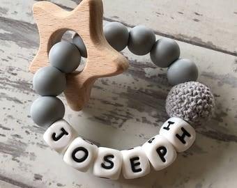 Crochet Star Teether
