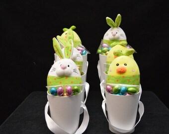 Eggbert Easter Hat Box Bouquet