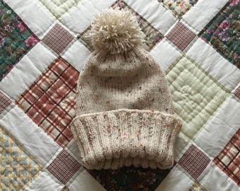 Speckled Beanie Hat