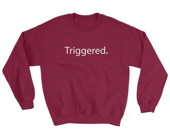 Triggered Meme Dank Memes Gamer Gifts Sweatshirt