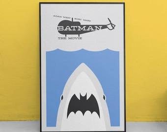 Batman: The Movie Minimalist Poster