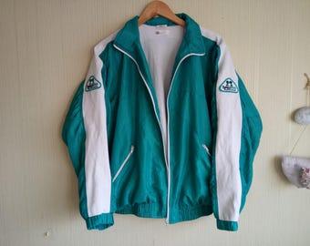 90s womens windbreaker Vintage nylon jacket Windbreaker women small Vintage windbreaker women Track Jacket 90s windbreaker women small
