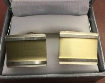 Vintage 800 CB Silver Cufflinks - Two Tone