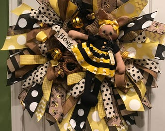 Queen with bee hive