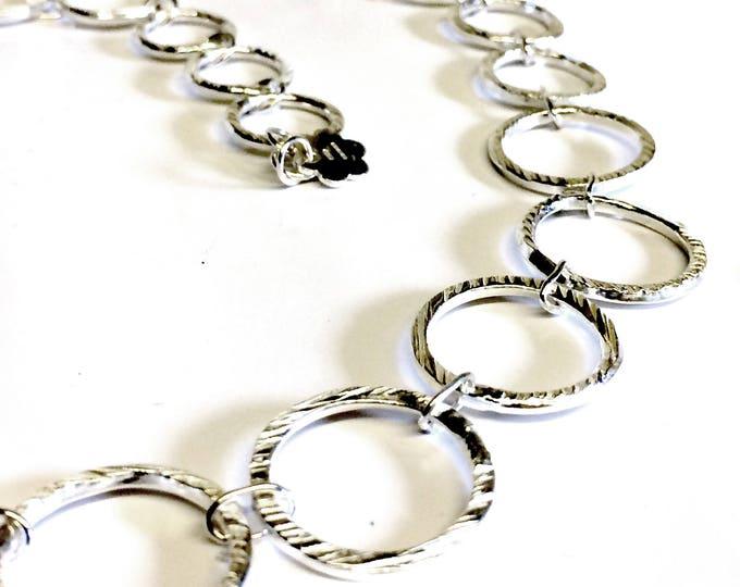 Retro Texture Chain Necklace