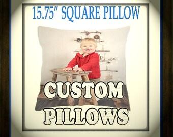 Custom Print Pillow - FREE SHIPPING