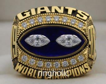 1990 New York Giants Super Bowl Championship Rings Ring