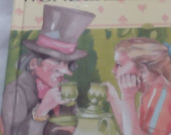 Vintage ladybird book Alice in wonderland
