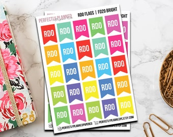 f029   RDO Flags // Functional Planner Sticker