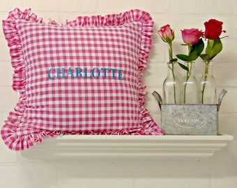 Personalised Embroidered Scatter Cushions