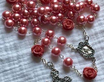 Rose Pink Rosary
