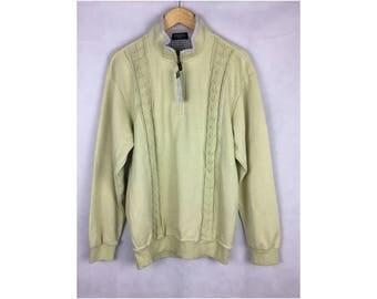 SANTA BARBARA Polo and Racquet Club Sweatshirt Deadstock Sweatshirt Knitwear Large Size With Tag