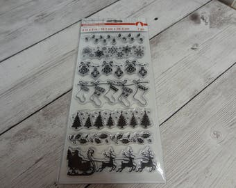 Recollections Christmas Stamp set NEW