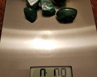 The Lifting, Bulk Stones: Lot 3 - 1/2 Pound of Malachite