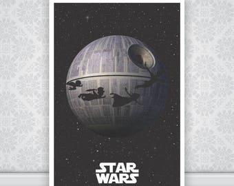 Peter Pan Star Wars Poster