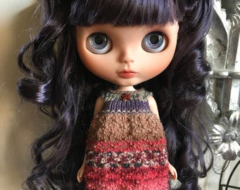 "RESERVED FOR PH (Final payment) Custom Blythe Doll ""Salome"" by Dollypunk21"