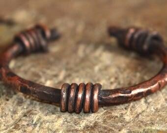 copper jewelry,copper bracelet,copper cuff, womens bracelet, thick,unique, rustic copper bracelet,handmade,vintage bracelet,gift,mother day