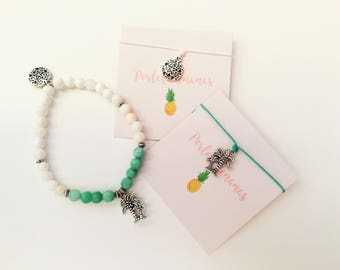 """""""Palm tree"""" bracelet and anklets Duo"""