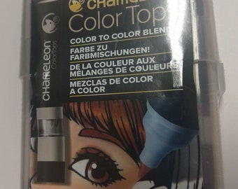 Chameleon Blendable Color Tops Alcohol-Based Mixing Chambers CT4510 - Skin Tones