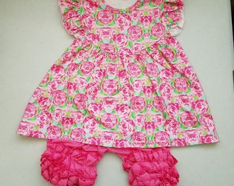 Lilly Pulitzer Inspired Girls' Outfits