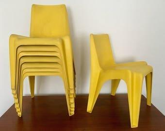 Mid-century Bofinger chair | indoor and outdoor | 1960s | Helmut Bätzner