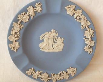 Wedgwood Blue Jasperware Ashtray