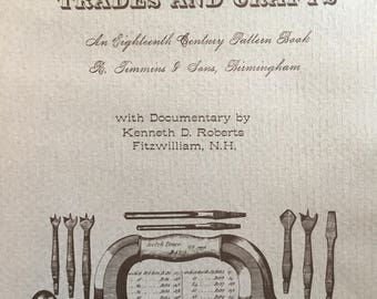 """1976, Book of Antique """"Tools for the Trades and Crafts"""""""