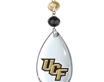 University of Central Florida Knights Logo Crystal Magnetic Ornament,Ucf Home Decor,Knights Decor,Ucf Decor,Ucf Ornament,Ucf Knights