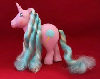 Sugar Sweet Unicorn My Little Pony Vintage Hasbro 1980s