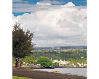 Classic Hilo - Hawaii Island photography by Harry Durgin