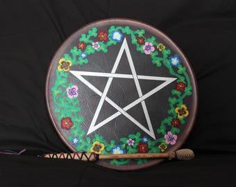 Purple Star Drum