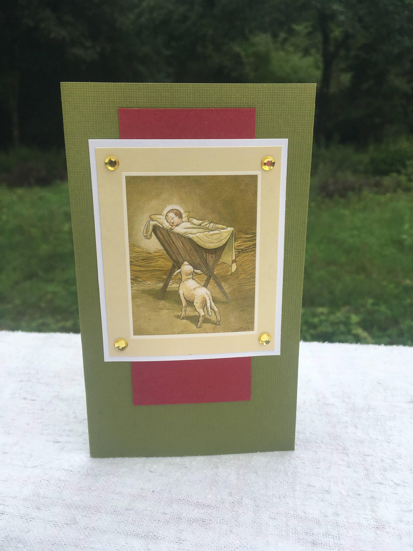 Christmas Handmade Greeting Card Gift For Mom Gift For Dad