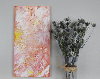 "Fluid Painting ""Pyxis"" 10""x20"""