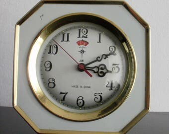 Vintage Polaris China alarm clock mechanical