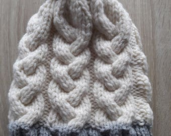 Hat, wool hat, beanie winter hat, hat, beanie, knitted, France