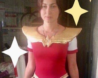 Wonder woman costume/ Wonder woman costume for halloween/ Wonder Woman overalls