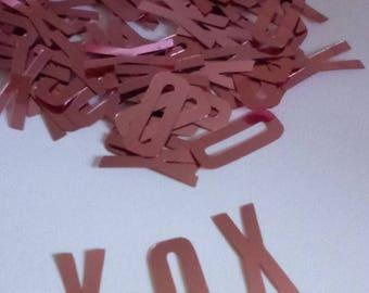 Hugs and Kisses Confetti,  XOXO Confetti, Valentine's Day Confetti,Date Night Decor,Party Confetti