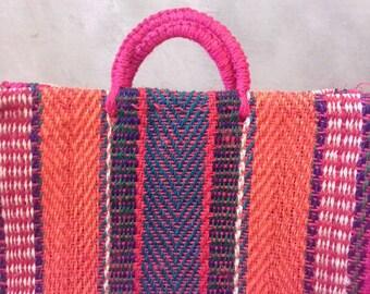 Bolsa tejida a mano en Guerrero, Mexico con HENEQUEN. Mexican handycraft bag. Wholesale TOO!!*sending cost on description