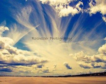 Summer Beach Clouds
