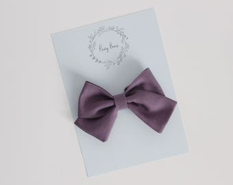 Skippy bow | plum