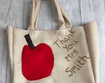 Teacher / Teaching assistant thank you bag