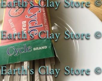 Natural, edible Cycle Slate Pencil Box