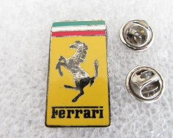 Ferrari Lapel Pin Vintage Pin Collectors Gift