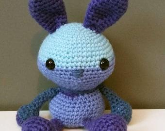 Amigurumi Patchy The Blue Blaze Pop Bunny!
