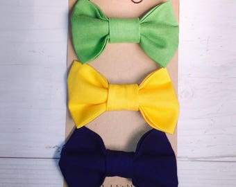 Newborn bow tie, Baby bow tie, Toddler bow tie, kids bow tie, clip on bow tie, baby boy bow tie, boys bow tie, bowtie