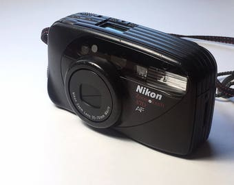 Vintage Nikon Zoom Touch 470 AF 35mm Point and Shoot Film Camera